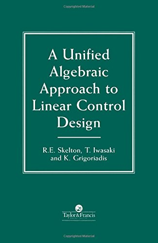 9780748405923: A Unified Algebraic Approach To Control Design
