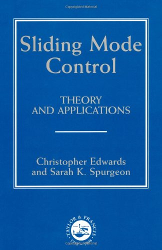 9780748406012: Sliding Mode Control: Theory And Applications (Series in Systems and Control)