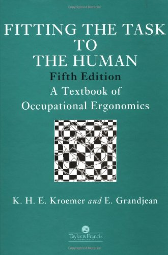 Fitting the Task to the Human: K. H. E.