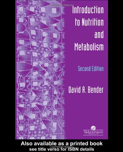 9780748407811: Introduction To Nutrition And Metabolism, Fourth Edition