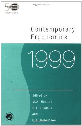 9780748408726: Contemporary Ergonomics 1999