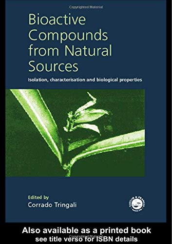 9780748408900: Bioactive Compounds from Natural Sources: Isolation, Characterization and Biological Properties