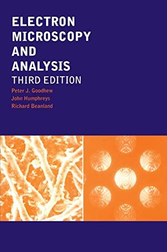 9780748409686: Electron Microscopy and Analysis, Third Edition