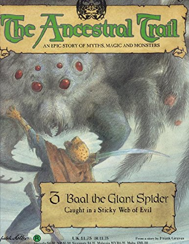 9780748540372: The Ancestral Trail Book No. 3: Baal The Giant Spider. An Epic Story of Myths, Magic and Monsters