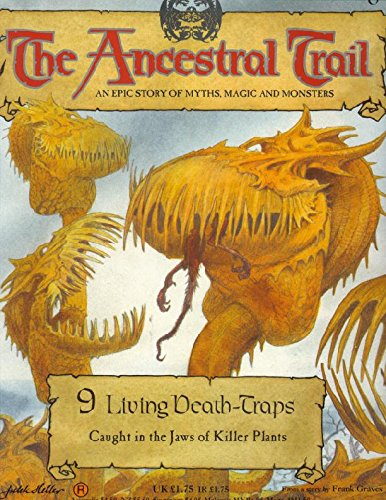 9780748540433: The Ancestral Trail Book No. 9: Living Death-Traps. An Epic Story of Myths, Magic and Monsters