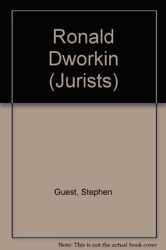 9780748603169: Ronald Dworkin (Jurists)
