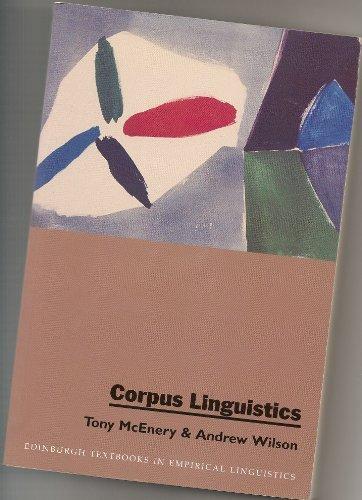 9780748604821: Corpus Linguistics (Edinburgh Textbooks in Empirical Linguistics)