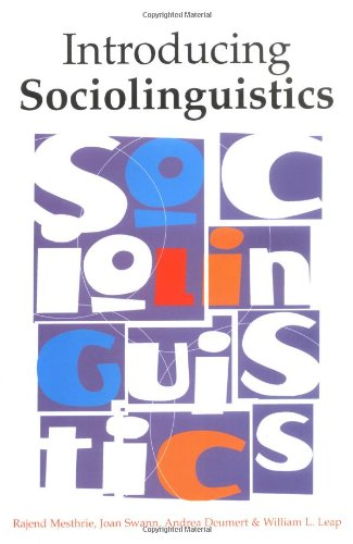 9780748607730: Introducing Sociolinguistics
