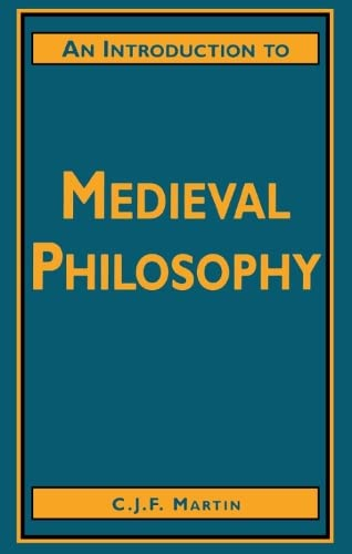 9780748607907: An Introduction to Medieval Philosophy