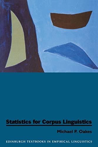 9780748608171: Statistics for Corpus Linguistics (Edinburgh Textbooks in Empirical Linguistics EUP)