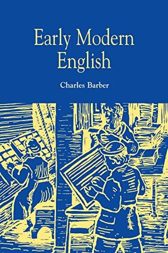 9780748608355: Early Modern English