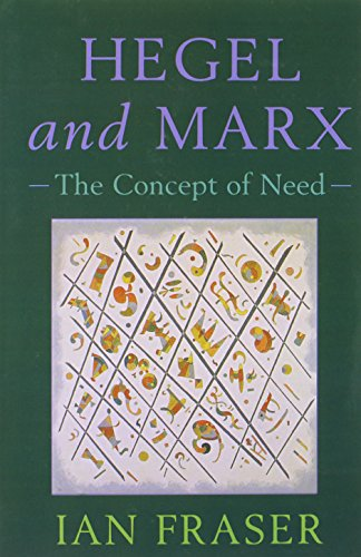 9780748609475: Hegel, Marx and the Concept of Need: Hegel and Marx: The Concept of Need