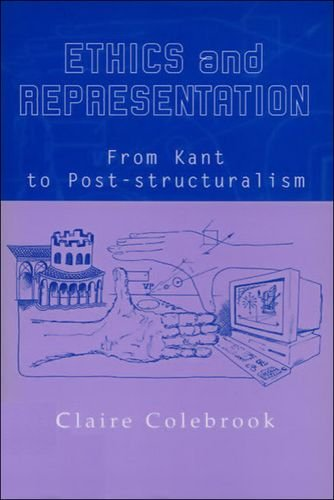 9780748611010: Ethics and Representation: From Kant to Poststructuralism