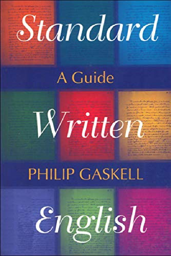 9780748611355: Standard Written English: A Guide