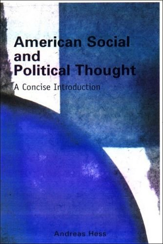 9780748612284: American Social and Political Thought: A Concise Introduction