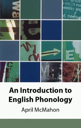 9780748612512: An Introduction to English Phonology (Edinburgh Textbooks on the English Language)