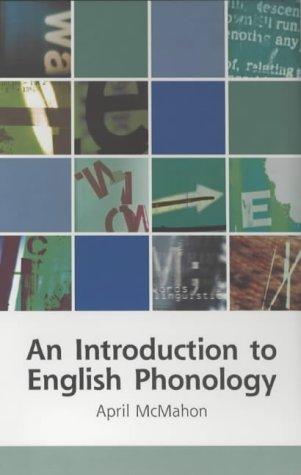 9780748612529: An Introduction to English Phonology (Edinburgh Textbooks on the English Language)