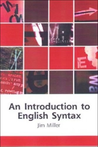 9780748612536: An Introduction to English Syntax (Edinburgh Textbooks on the English Language)