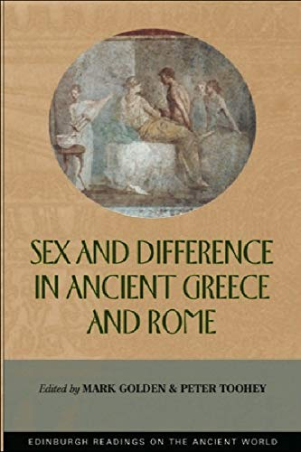 9780748613205: Sex and Difference in Ancient Greece and Rome