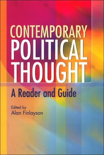 Contemporary Political Theories A Reader and Guide: FINLAYSON.
