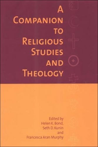 9780748614578: A Companion to Religious Studies and Theology