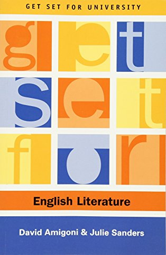 9780748615377: Get Set for English Literature (Get Set for University EUP)