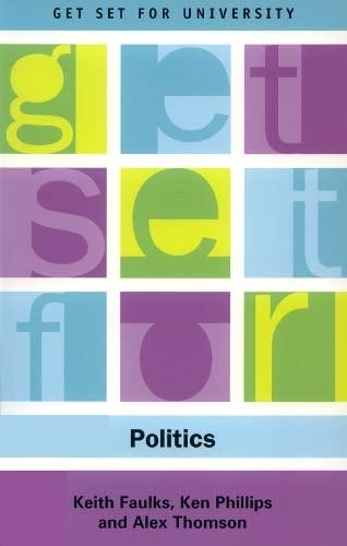 9780748615452: Get Set for Politics (Get Set for University EUP)