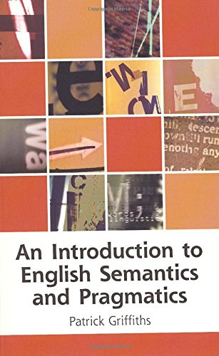 9780748616329: An Introduction to English Semantics And Pragmatics