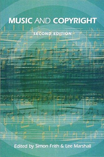 Music and Copyright: Simon Frith, Lee Marshall