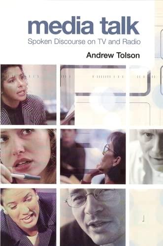 9780748618262: Media Talk: Spoken Discourse on TV And Radio