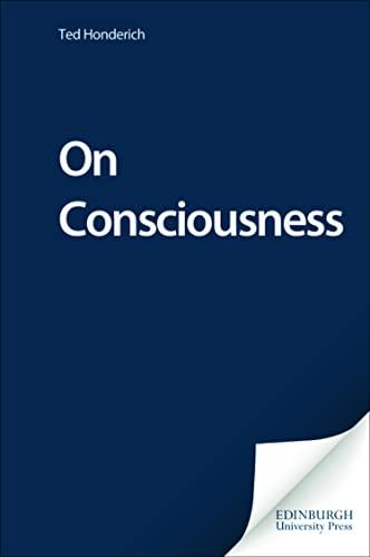 9780748618422: On Consciousness