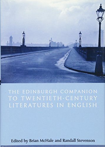 9780748620111: The Edinburgh Companion to Twentieth-century Literatures in English