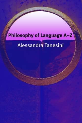 9780748622283: Philosophy of Language A-Z (Philosophy A-Z)