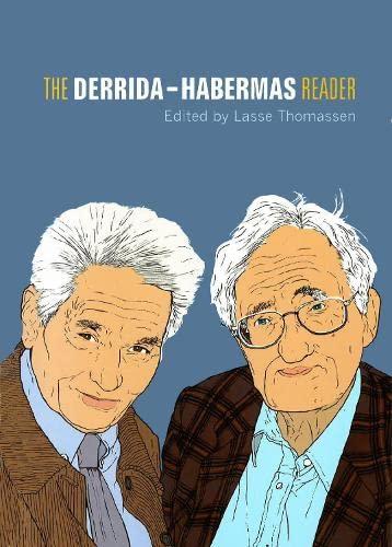 9780748622504: Derrida-Habermas Reader