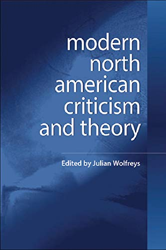 9780748624515: Modern North American Criticism and Theory: A Critical Guide