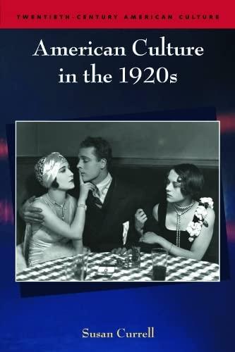 9780748625215: American Culture in the 1920s (Twentieth Century American Culture EUP)