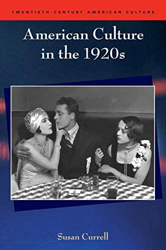 9780748625222: American Culture in the 1920s (Twentieth Century American Culture EUP)