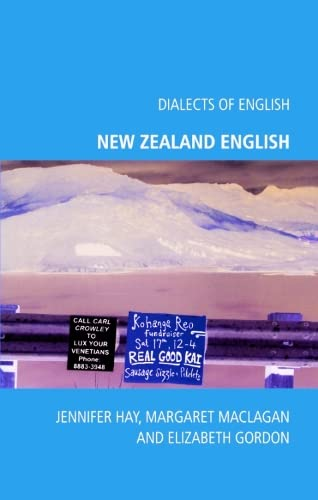 9780748625307: New Zealand English (Dialects of English EUP)