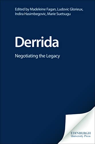 Derrida: Negotiating the Legacy: Christopher Norris/ Richard