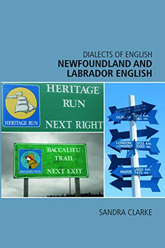 9780748626175: Newfoundland and Labrador English (Dialects of English EUP)