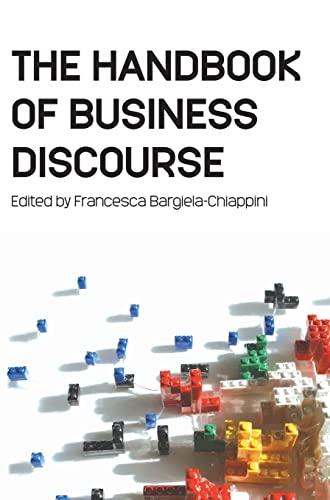 9780748628018: The Handbook of Business Discourse