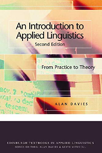 9780748633555: An Introduction to Applied Linguistics: From Practice to Theory (Edinburgh Textbooks in Applied Linguistics EUP)