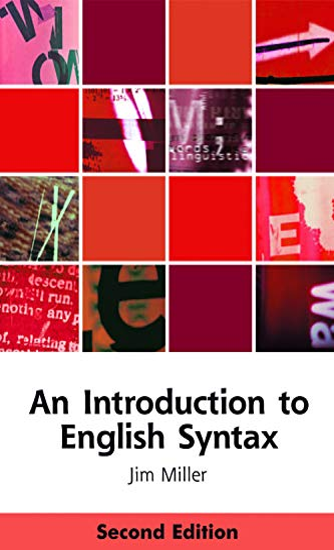 9780748633609: An Introduction to English Syntax (Edinburgh Textbooks on the English Language)