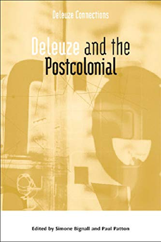 9780748637003: Deleuze and the Postcolonial (Deleuze Connections EUP)