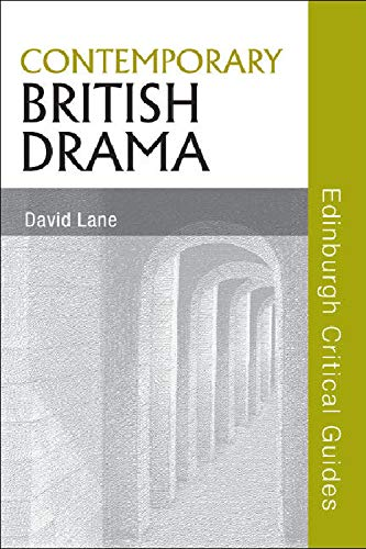 9780748638215: Contemporary British Drama