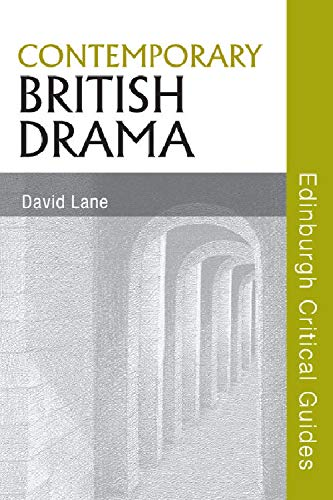 9780748638222: Contemporary British Drama