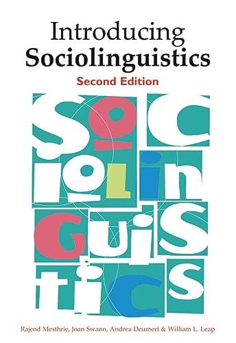 9780748638437: Introducing Sociolinguistics