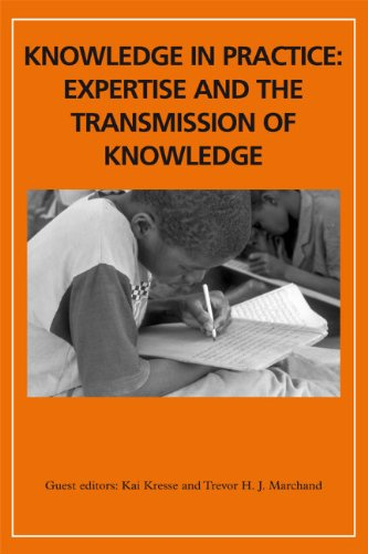 9780748638895: Knowledge in Practice: Expertise and the Transmission of Knowledge (Africa)