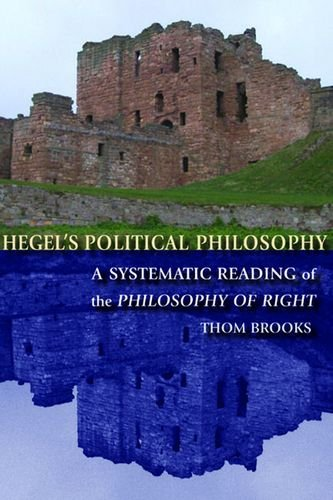 9780748638963: Hegel's Political Philosophy: A Systematic Reading of the Philosophy of Right