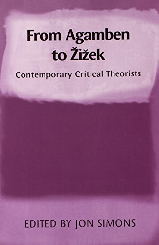 9780748639748: From Agamben to Zizek: Contemporary Critical Theorists